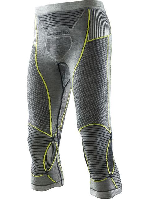 X-Bionic Apani Merino By Fastflow Medium Pants Men Black/Grey/Yellow
